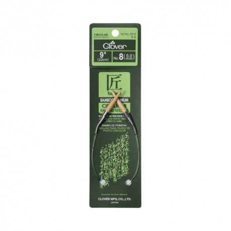 """Bamboo Circular - Knitting Needles (9"""")"""