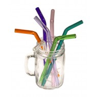 Straws - Glass (with straw brush)